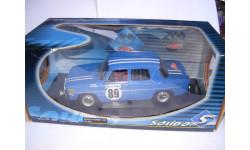 модель 1/18 Renault 8 Gordini 1967 Rally Monte Carlo #89 Solido металл 1:18, масштабная модель