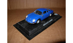 модель  1/43 Renault Alpine A110 DelPrado металл 1:43