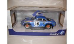 модель 1/18 Renault Alpine A110 1800 18 Monte Carlo Rally 1973 Solido металл 1:1