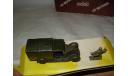 модель  1/43 Military Renault KZ военный +фигурки Solido France металл 1:43, масштабная модель, scale43