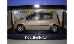 модель 1/18 Renault Modus Norev металл
