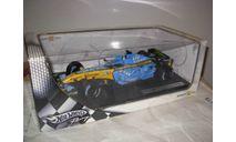 модель 1/18 Формула-1 F1 Renault R26 2006 #2 Fisichella Mattel / Hot Wheels металл 1:18, масштабная модель, Mattel Hot Wheels, scale18