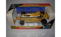 модель F1 Формула-1 1/23 Renault RE30 Polistil/Tonka металл, около 1:24, масштабная модель, 1/24