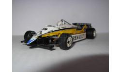 модель 1/43 F1 Formula1 Renault RE30B Elf 1982 #16 Rene Arnoux металл