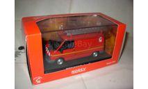 модель  1/43 пожарый фургон Renault Trafic Norev металл 1:43 пожарная, масштабная модель, scale43