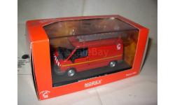 модель  1/43 пожарый фургон Renault Trafic Norev металл 1:43 пожарная