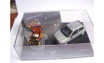 2 модели вместе: 1/43 Renault VOITURETTE 1898 + Clio 1998 VITESSE металл 1:43, масштабная модель
