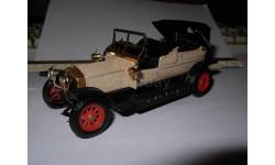модель 1/43 1907 Rolls Royce Silver Ghost EKO пластик Spain 1:43, масштабная модель, Rolls-Royce