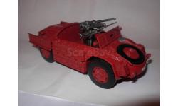 модель 1/43 Sahariana итальянский полицейский броневик металл