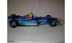 модель F1 Формула 1 1/18 Sauber Red Bull Petronas C18 launch version 2000 #17 Mika Salo Minichamps / Paul's Model Art металл 1:18