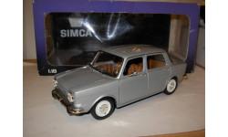 модель 1/18 Simca 1000LS 1974 Norev металл  1:18