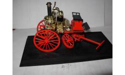 модель  1/32 пожарый паровой насосный ход steamer Durenne Krebs 1907 DelPrado металл