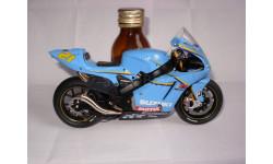 модель 1/12 гоночный мотоцикл SUZUKI - GSV-R N 21 MOTOGP 2006 JOHN HOPKINS Altaya металл 1:12