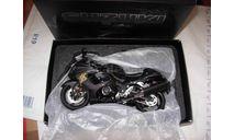 1/12 модель мотоцикл Suzuki GSX 1300 R Hayabusa WITS Mile Stone Limited Schuco металл 1:12 Z1000R1 чёрный, масштабная модель мотоцикла, scale12