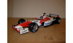 модель F1 Формула 1 1/18 Toyota TF103 2003  Panasonic #21 Cristiano da Matta Minichamps / Paul's Model Art металл 1:18, масштабная модель