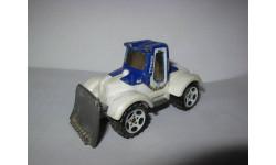 модель бульдозер 1/64 Tractor Plow Matchbox металл 1:64