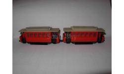 модель трамвай 2х-вагоный 1/87 H0 HO 16.5мм/12mm TT пластик 1:87