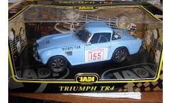 модель 1/18 Triumph TR4 Rally #155 Jadi  металл, масштабная модель, 1:18