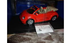 модель 1/18  Volkswagen VW NEW BEETLE Autoart металл 1:18