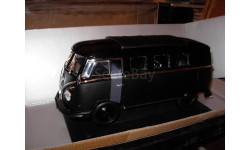 модель 1/18 Volkswagen VW MicroBus Bulli Black Bandit limited Greenlight металл, масштабная модель, Greenlight Collectibles, 1:18