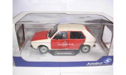 модель 1/18 Volkswagen VW Golf пожарный Solido металл 1:18, масштабная модель