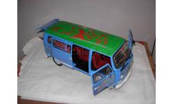 модель 1/14 микроавтобус Volkswagen VW T2 T2a Ludolfs Dickie пластик1:14