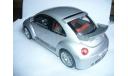 модель 1/18 Volkswagen VW NEW BEETLE RSI, Auto-Art металл, масштабная модель, 1:18, Autoart