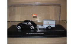 модель 1/43 Volkswagen Beetle Жук + прицеп G2 Schuco Limited металл 1:43