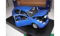 модель 1/18 Volkswagen VW Golf-4 GTI Revell металл, масштабная модель, scale18