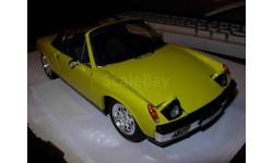 модель 1/18 Porsche VW 914 Volkswagen Revell металл