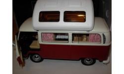 модель 1/18 микроавтобус Volkswagen VW T2 T2a Campingbus Schuco металл 1:18, масштабная модель, scale18