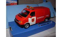модель 1/43 Volkswagen VW T4 Испания пожарный фургон Cararama металл 1:43, масштабная модель, scale43, Bauer/Cararama/Hongwell