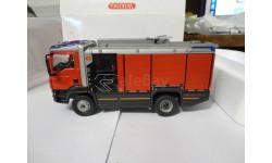 модель 1/43 пожарный MAN AT Rosenbauer Wiking металл пожарная 1:43, масштабная модель, scale43
