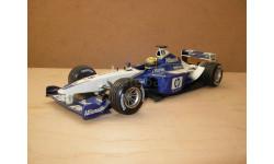 модель F1 Формула 1 1/18 Williams BMW FW24 2002 #5 Ralf Schumacher Minichamps /Paul's Model Art металл 1:18