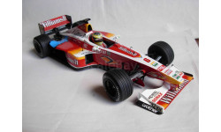 модель F1 Формулы 1 1/18 Williams BMW FW21 1999 #6 'Veltins' Schumacher Minichamps металл