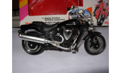 1/18 модель мотоцикл Yamaha Road Star Warrior Maisto металл