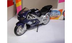 1/18 модель мотоцикл Yamaha YZF R1 Maisto металл 1:18, масштабная модель мотоцикла, scale18