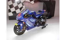 модель 1/12 гоночный мотоцикл Alex Barros Yamaha YZR-M1 Gauloises Tech3 MotoGP 2003 Minichamps 1:12, масштабная модель мотоцикла, scale12