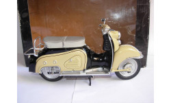 1/10 модель мотороллер/скутер Zundapp Bella 204 1958-1960 Schuco металл 1:10, масштабная модель мотоцикла, scale10, Zündapp
