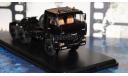 КАМАЗ-65225-020 (Euro 2) седельный тягач 6х6 ЧЁРНЫЙ, масштабная модель, 1:43, 1/43, Start Scale Models (SSM)