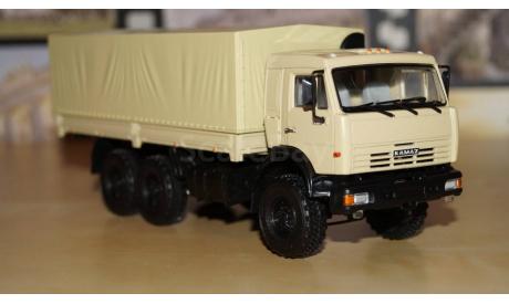 КАМАЗ-43118 6х6, масштабная модель, 1:43, 1/43, Автоистория (АИСТ)