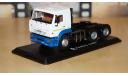КАМАЗ-6460 6х4 седельный тягач бело/синий, масштабная модель, 1:43, 1/43, Start Scale Models (SSM)