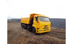 КАМАЗ 6540 8х4 самосвал, желтый (Рестайлинг)