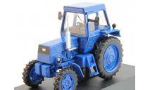 ЛТЗ-55А трактор колесный - синий - №44 без журнала 1:43, масштабная модель, Тракторы. История, люди, машины. (Hachette collections), scale43