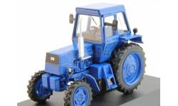 ЛТЗ-55А трактор колесный - синий - №44 без журнала 1:43