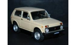 ВАЗ-2121 'НИВА'  - бежевая 1/43, масштабная модель, ALPA models, 1:43
