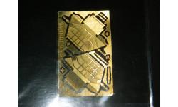 Пластиковая крышка аккумуляторного ящика камаз 1:43, фототравление, декали, краски, материалы, Петроградъ и S&B, 1/43