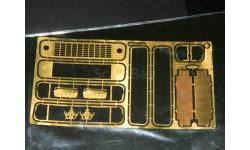 Набор для МАЗ-5335 с решёткой 1:43, фототравление, декали, краски, материалы, Петроградъ и S&B, 1/43