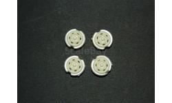 диски колес для ВАЗ (ИЖ-2126) 1/43, масштабная модель, ALPA models, 1:43