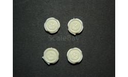диски колес для АЗЛК, ИЖ  'Москвич' 1/43, масштабная модель, ALPA models, 1:43